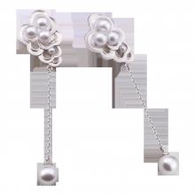 Bông tai bạc thời trang PNJSilver NHXMW060005