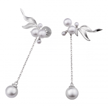 Bông tai bạc thời trang PNJSilver NHXMW060006