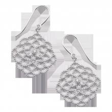 Bông tai bạc đính đá PNJSilver XMXMK060015