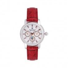 Đồng hồ nữ chính hãng Royal Crown 6419 dây da đỏ