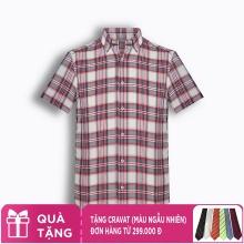 Áo sơ mi nam tay ngắn họa tiết The Shirts Studio Hàn Quốc TD45F2312BL100