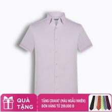 Áo sơ mi nam tay ngắn họa tiết The Shirts Studio Hàn Quốc TD42F2317PI
