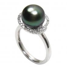 Nhẫn nữ ngọc trai tự nhiên - NNU500