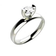 Nhẫn nữ đá kim cương nhân tạo - NNU03
