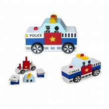 Lắp ráp xe cảnh sát