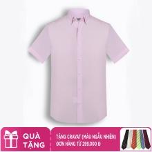 Áo sơ mi nam tay ngắn họa tiết The Shirts Studio Hàn Quốc TDRTS2420PI