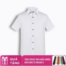Áo sơ mi nam tay ngắn họa tiết The Shirts Studio Hàn Quốc TD11F2318GY