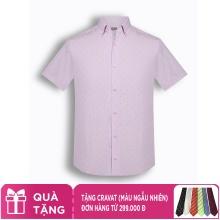Áo sơ mi nam tay ngắn họa tiết The Shirts Studio Hàn Quốc TD42F2319PI100