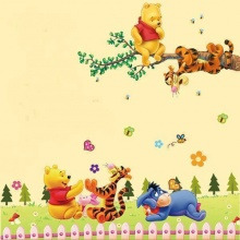 Combo decal dán tường gấu Pooh PK540