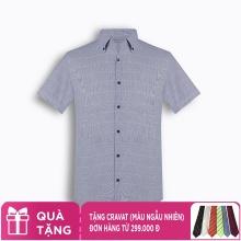 Áo sơ mi nam tay ngắn họa tiết The Shirts Studio Hàn Quốc TD45F2304NY