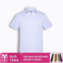 Áo sơ mi nam tay ngắn họa tiết The Shirts Studio Hàn Quốc TD11S2722BL