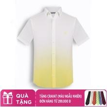 Áo sơ mi nam tay ngắn họa tiết The Shirts Studio Hàn Quốc TD10F2396YE