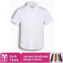 Áo sơ mi nam tay ngắn họa tiết The Shirts Studio Hàn Quốc TD13F2328WH