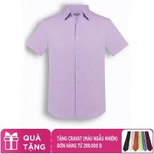 Áo sơ mi nam tay ngắn họa tiết The Shirts Studio Hàn Quốc TD12F2382VI
