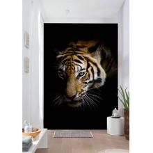 Tranh dán tường 3D chúa sơn lâm TDT07 (Kích thước :100x150cm)