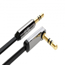Cáp Audio 3,5mm dài 1M Ugreen 10597 bẻ góc 90 độ