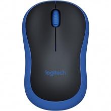 Chuột không dây Logitech M185 xanh đen