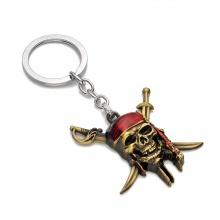 Móc khóa đồ chơi mô hình keychain movie pirates of the caribbean cướp biển vùng caribe