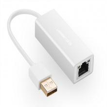 USB 2.0 to LAN 10/100Mbps Ugreen 20257 vỏ bạc cao cấp