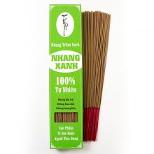 Nhang xanh trầm hương - 40cm - 0.5kg (chân tăm đỏ)