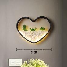 Đèn treo tường Led - Đèn tường trang trí Có tiểu cảnh - Gắn tường Phòng khách, Phòng ngủ - DTLC009