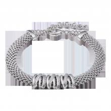 Lắc tay bạc Ý đính đá PNJSilver XMXMK060008