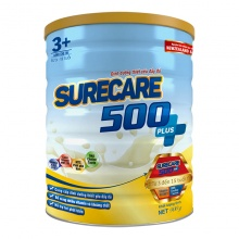 Sữa Surecare 500 plus 3+ 900g