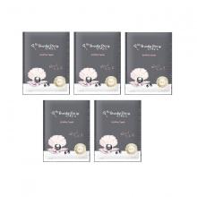Bộ 5 miếng mặt nạ ngọc trai đen My Beauty Diary black pearl mask