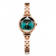 Đồng hồ nữ chính hãng Julius Hàn Quốc JA-1162C (đồng xanh) mặt cắt ngôi sao tuyệt đẹp