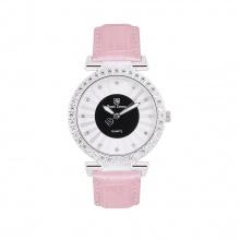 Đồng hồ nữ chính hãng Royal Crown 4611 dây da hồng
