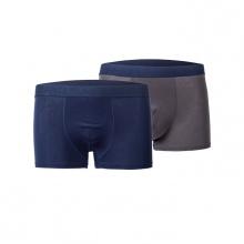 Combo 2 quần lót boxer nam Standard Men SS38 Xanh + Xám đậm