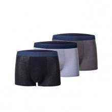 Combo 3 quần lót boxer nam Standard Men SS38 Xám đậm + Xám Nhạt + Đen