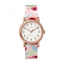 Đồng hồ nữ Timex Weekender 31mm Floral - TW2T31300