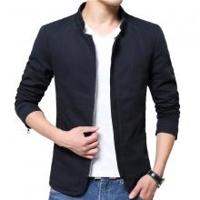 Áo khoác kaki nam kiểu vest 2 lớp cao cấp Bonado BN16 - Xanh Đen