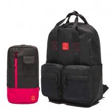 Combo balo thời trang Glado daypack GDP005 (màu đen) và túi đeo chéo Glado Express GEX002 (đủ màu)