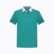 Áo phông nam cổ bẻ tay ngắn Hàn Quốc The Shirts Studio TV11A2014 GR