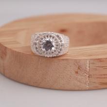 Opal - Nhẫn bạc nam đính đá Ross cá tính_T6