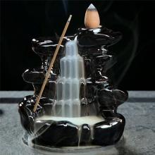 Thác khói trầm hương - tặng kèm 5 nụ búp sen trầm hương