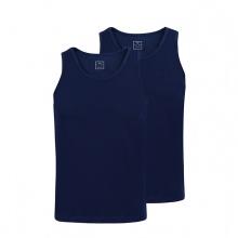 Combo 2 áo lót nam Standardmen SABC 02 - xanh tím than