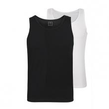Combo 2 áo lót nam Standardmen SABC 02 - trắng + đen