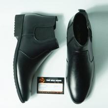 Giày boot da bò thật nguyên tấm thật 100%  bảo hành 12 tháng ( 2H - 19 )