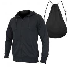 Áo chống nắng túi balo 2 trong 1 sành điệu thoáng mát vải chất BN06 - Đen
