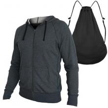 Áo chống nắng túi balo 2 trong 1 sành điệu thoáng mát vải chất BN06 - Xám Đen