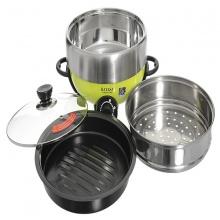 Lẩu điện nướng đa năng-Hayasa. Nấu lẩu, chiên, xào, nướng...Dung tích 5.0 lít - Model: HA-68