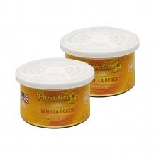 Sáp thơm ô tô Paradise Air Fresh 42g - Vanilla - Combo 2 hộp