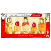 Bộ 5 chai nước hoa nữ Charrier Parfums Collection Luxe