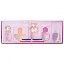 Bộ 5 chai nước hoa nữ Charrier Parfums Les Perfums de France