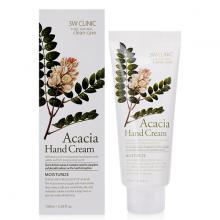 Kem dưỡng da tay thảo mộc 3W Clinic Acacia Hand Cream 100ml