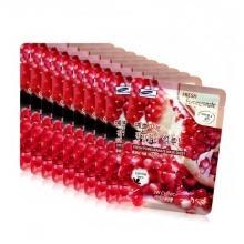 Bộ 10 mặt nạ giấy quả lựu 3W Clinic Fresh Pomegranate 23ml