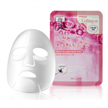 Mặt nạ bổ sung collagen 3w clinic fresh collagen mask sheet 23ml